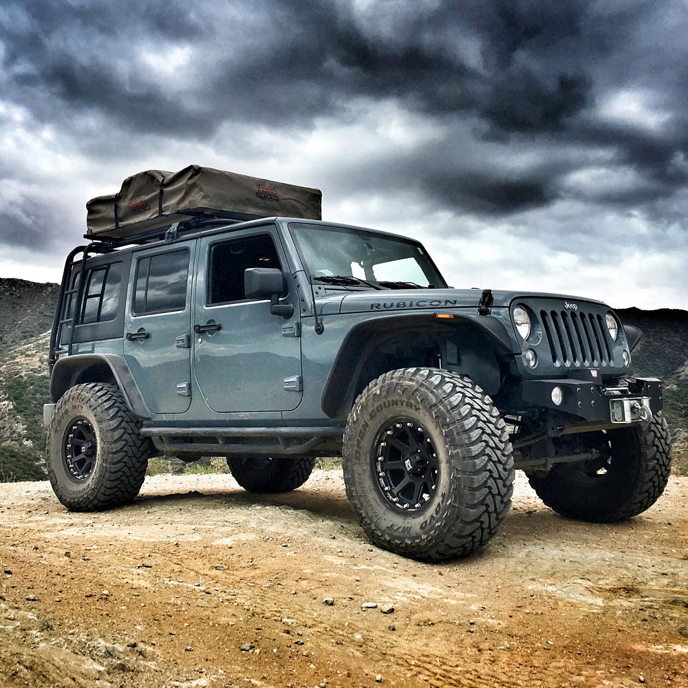 Jeep With Truck Bed >> Jeep Wrangler 4×4 with Roof Top Tent – Rent For Less Maui